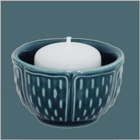 Gien  Pont Aux Choux Candles & Cups Votive Ocean Blue $23.00
