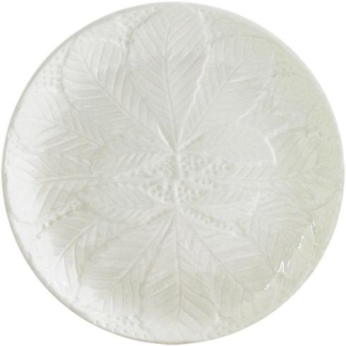 Canape Plate Set of 2 - Kaolin White