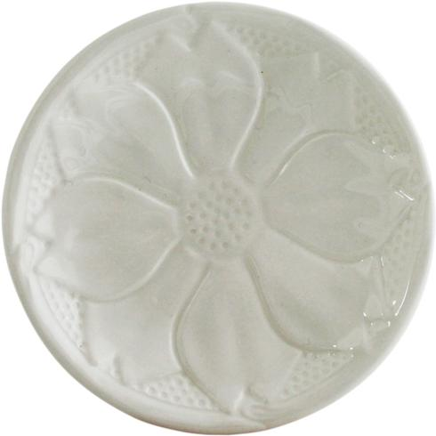 Coaster Set of 2 - Kaolin White