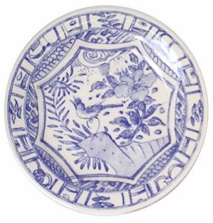 Gien  Oiseau Blue & White Dinner Plate $36.00