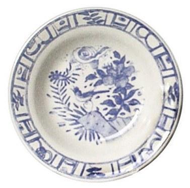 Gien  Oiseau Blue & White Rim Soup $35.00