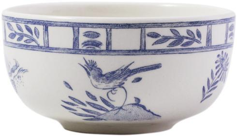 Gien  Oiseau Blue & White Dipping Bowl $26.00
