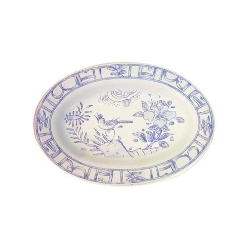 Gien  Oiseau Blue & White Pickle Dish $60.00