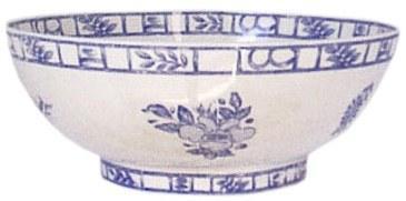 Gien  Oiseau Blue & White Open Vegetable $198.00