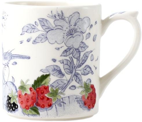 Gien  Oiseau Blue Fruits Mug $40.00