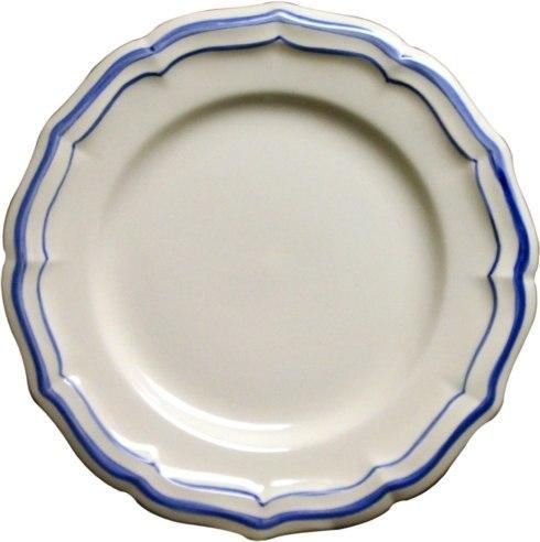 Gien  Filet Bleu Dinner Plate $45.00