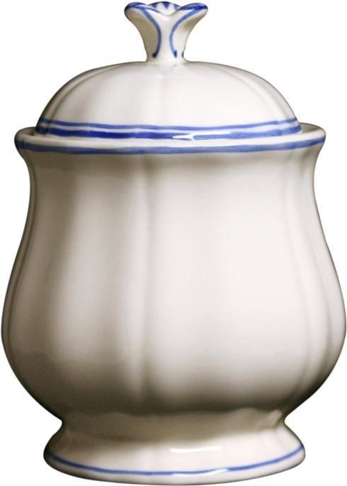 Gien  Filet Bleu Sugar Bowl $100.00