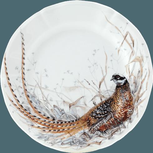 Gien  Sologne Dessert Plate - Pheasant $45.00
