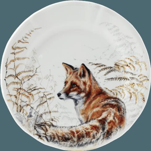 Gien  Sologne Dessert Plate - Fox $45.00