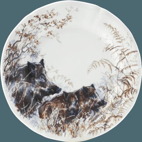 $47.00 Dessert Plate - Boar