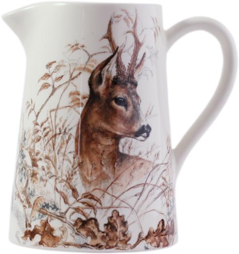 Gien  Sologne Pitcher - Deer $160.00