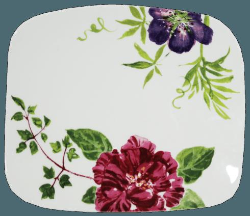 Organic Square Plate, Medium
