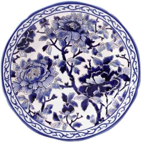 Gien  Pivoines Bleues Dinner Plate $286.00