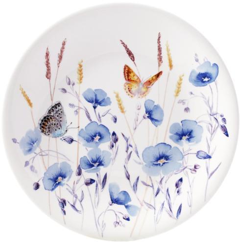 $47.00 Dessert Plate - Flax