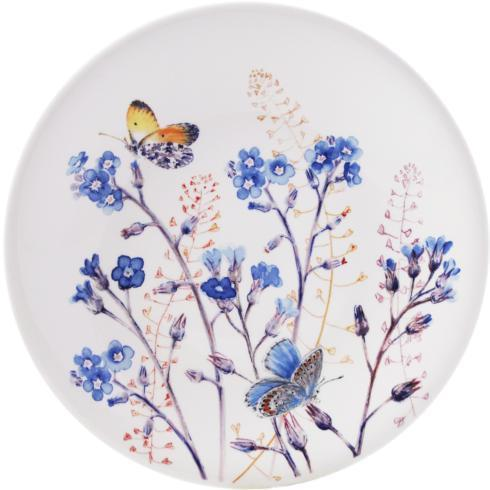 $47.00 Dessert Plate - Forget Me Not