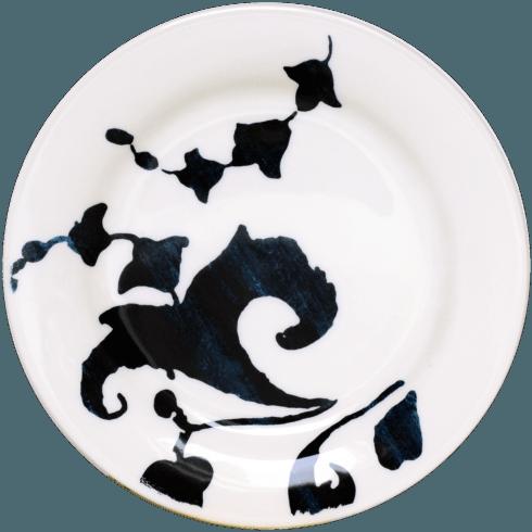 $34.00 Canape Plate - White Arabesque