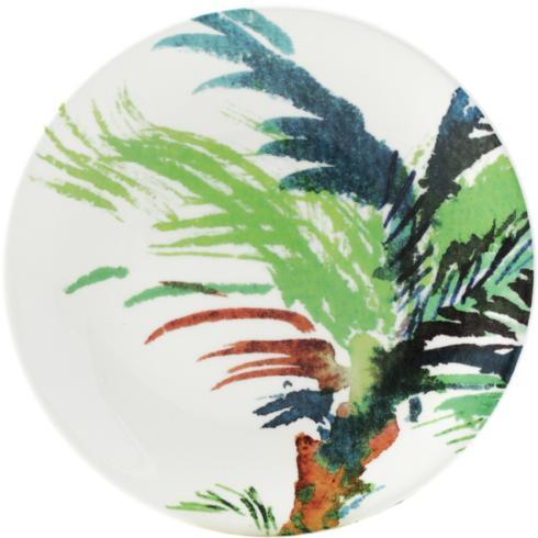 Vegetal Canape Plate - Green
