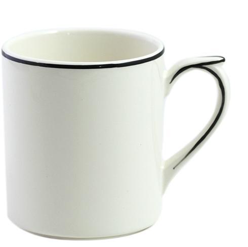 Gien  Filet Midnight/Manganese Mug $40.00