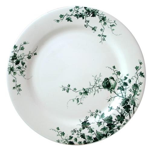 Gien  Les Oiseaux Dinner Plate $48.00