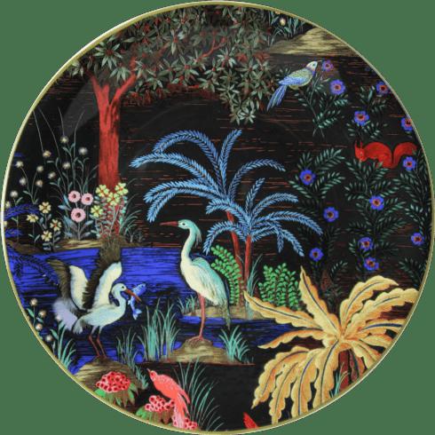 Gien  Le Jardin Du Palais Dessert Plate Heron $47.00