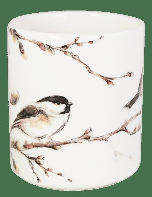 Gien  Les Oiseaux De La Foret MUG; BARNACLE TIT $42.00