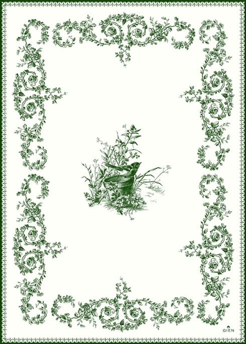 $96.00 Oiseau Tea Towel