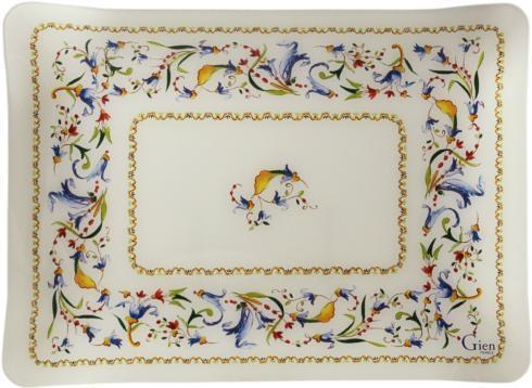 Gien  Toscana Acrylic Serving Tray, Small $65.00