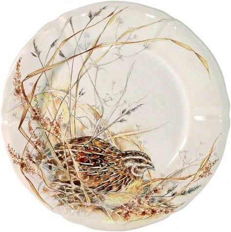 Gien  Sologne Canape Plate $34.00