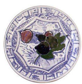 $32.50 Canape Plate, Fig