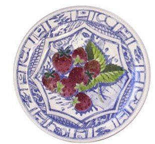 $34.00 Canape Plate, Strawberry