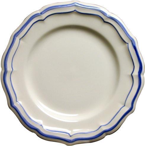 Gien  Filet Bleu Canape Plate $27.00