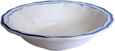 Gien  Filet Bleu Cereal Bowl $42.00