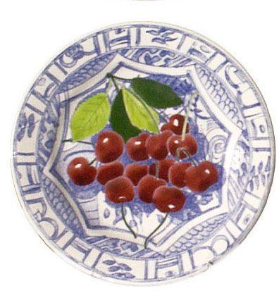 $45.00 Dessert Plate, Cherry