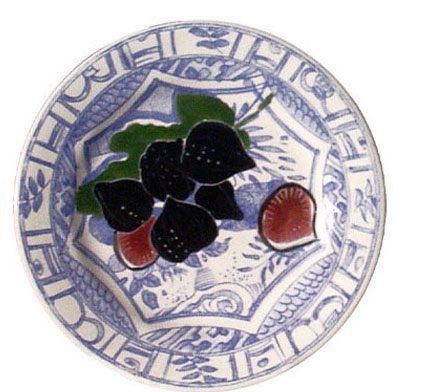 $45.00 Dessert Plate, Fig