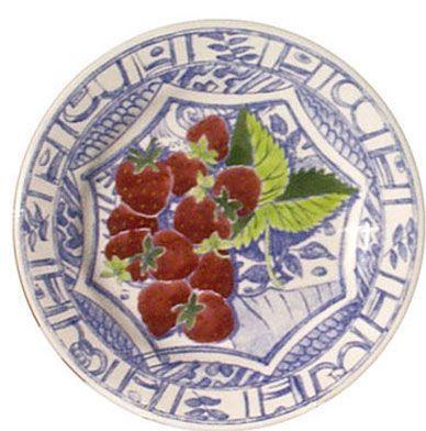 $45.00 Dessert Plate, Strawberry