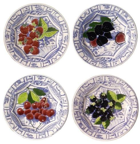 $188.00 Dessert Plates, Set of 4 Assorted