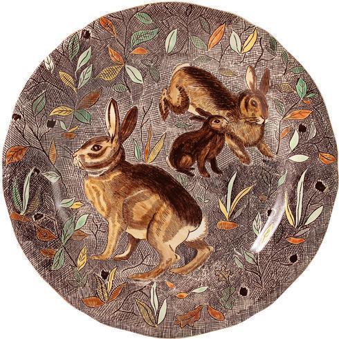 $320.00 Dinner Plate, Rabbit