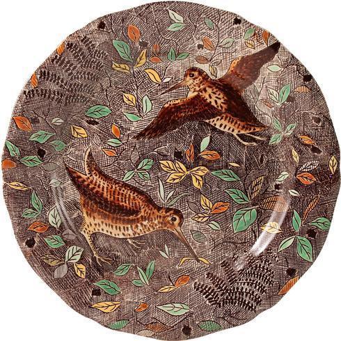 Dinner Plate, Woodcock