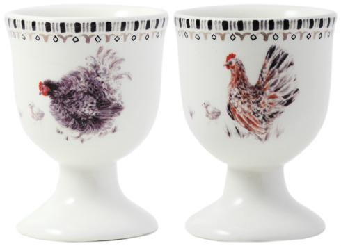 $65.00 Egg Cups - Set of 2 Assorted