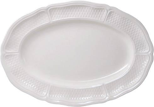 Gien  Pont Aux Choux White Small Oval Platter $95.00