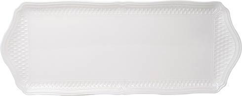 Gien  Pont Aux Choux White Oblong Serving Tray $75.00