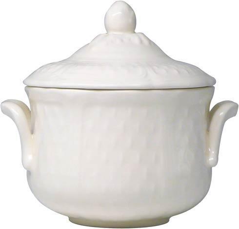Gien  Pont Aux Choux White Sugar Bowl $102.00