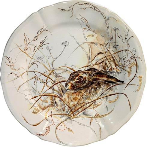 Gien  Sologne Dessert Plate, Hare $47.00