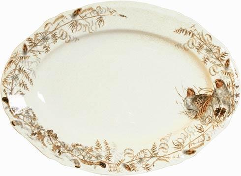 Gien  Sologne Oval Platter, Large $225.00