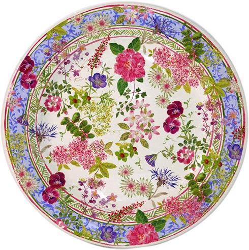 Gien  Millefleurs Canape Plate $35.00