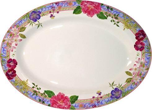 Gien  Millefleurs Oval Platter, Large $225.00