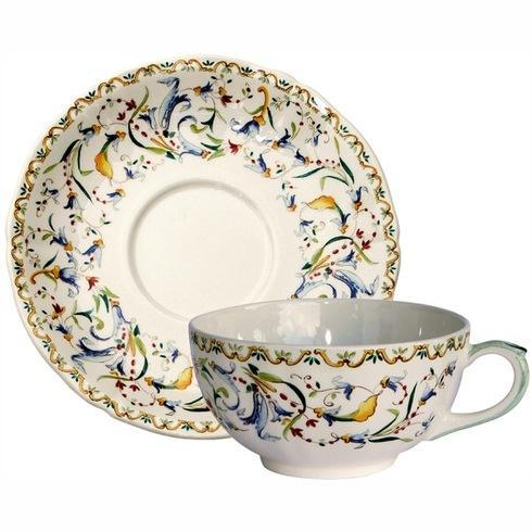 $168.00 Breakfast Cups and Saucers, Set of 2