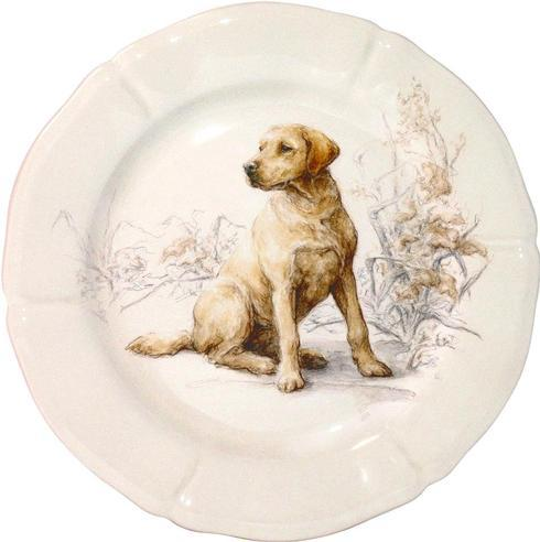 Gien  Sologne Dessert Plate, Labrador $47.00