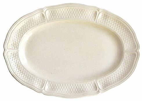 Gien  Pont Aux Choux Cream Oval Platter, Small $95.00