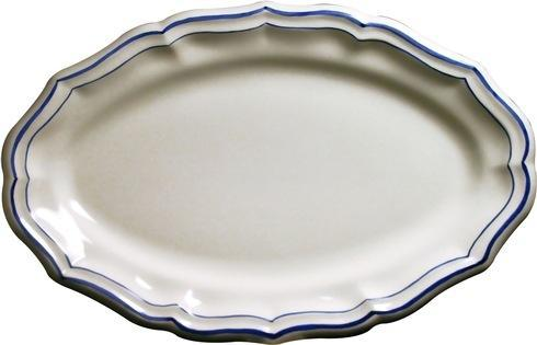 Gien  Filet Bleu Oval Platter, Medium $115.00